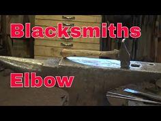 Hammer technique and blacksmiths elbow preventioin - YouTube