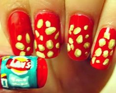 Lay's Chips Nails