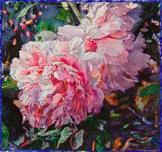 Joseph Raffael        Homage to Carolyn Brady 1939-2005, 2005. (b. 1933). Watercolor on paper, 41 x 44 in.