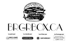 BrgrBox Tin Loaf, Brioche Bread, Lettuce Leaves, Cheese Plant