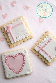 Galletas decoradas con fondant y papel de azúcar | Dulzoterapia
