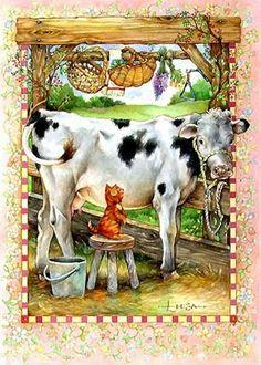 Got Milk By Leesa Whitten
