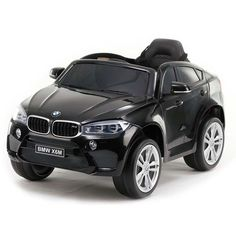 BMW Premium Edition SUV Kids Ride on Toy Car, Doors, Lights, Remote Control by KidsVipOnline ** Check this awesome product by going to the link at the image. (This is an affiliate link) Bmw X6, Kids Ride On Toys, Kids Toys, Electric Cars, Games For Kids, Remote, Lights, Vehicles, Black