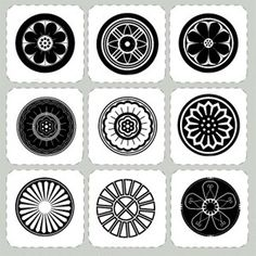 6pcs korean traditional pattern design symbol motif rubber seal stamps postage korean. Black Bedroom Furniture Sets. Home Design Ideas