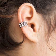 Weiteres - Silber Ohr Manschette - fake Ohrstulpe - Ohr warp - ein Designerstück…