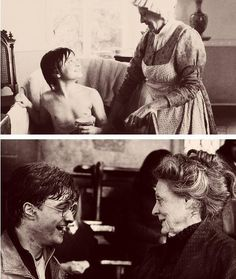 """Well she got me the job at Potter, practically, so for anyone who doesn't know that story, I basically owe everything to Maggie Smith because I worked with her on David Copperfield and then she came over to Potter as McGonagall and said to the director, you need to audition this boy.""    - Daniel Radcliffe"