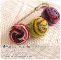 Ethnic pattern  muffler pin    【Japanese general store】    エスニック柄マフラーピン  の新作です(*^▽^*)ノ  エスニックファッションで可愛い  ですよね~アジアン雑貨なら当店で♪