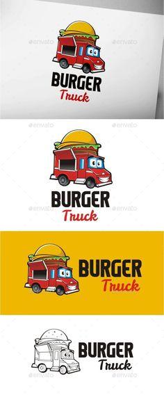 Burger Truck - Food Logo Templates