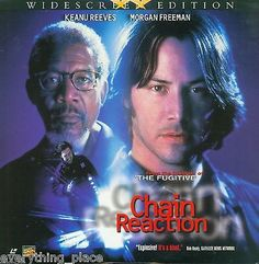 Chain Reaction Widescreen Edition AC-3 Laserdisc Movie Starring Keanu Reeves