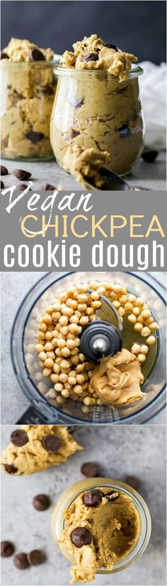 VEGAN CHICKPEA COOKIE DOUGH