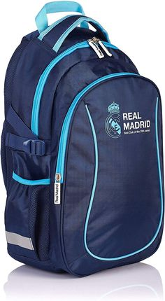 Real Madrid, North Face Backpack, The North Face, Blues, Navy Blue, Backpacks, Casual, Awesome Backpacks, School Backpacks