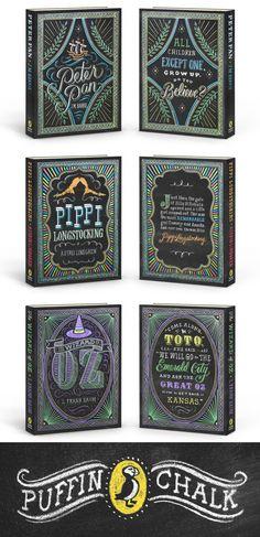 Puffin Chalk series illustrations by Dana Tanamachi; art direction by Deborah Kaplan and Kristin Logsdon (Penguin / 2013)