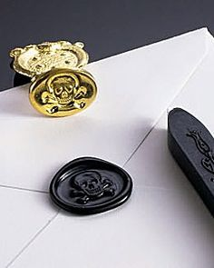 Mail those halloween invitations this year and seal em up!