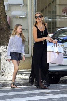 Kate Moss & Lila: Brazilian Brunch