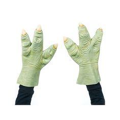 Adult Star Wars Yoda Latex Hands, Men's, Green