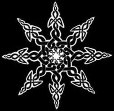 Celtic Symbol for Chaos. I'm not surprised that the Celtic symbol for chaos is a snowflake. Since winter was bad for every culture in the biblical to now age