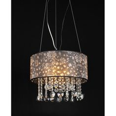 Warehouse of Tiffany Claire 4 Light Crystal Chandelier   Wayfair