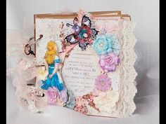 Reneabouquets Design Team Video of an Alice In Wonderland Themed Mini Album Created By Terry Nelson. You can find all of the handcrafted Die Cuts, Butterflies, Laces, Trinkets, Blue Fern Chipboard, and so much more in the Reneabouquets.com and Reneabouquets Etsy Shops. http://www.Reneabouquets.com http://www.Etsy.com/shop/Reneabouquets