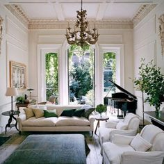This room has always been a favourite, the architectural details of this room work seamlessly with the simple yet beautiful furnishings.