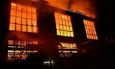 Dramatic images as fire rips through Glasgow School of Art Glasgow School Of Art, Art School, Light Switch Art, Glasgow City, Charles Rennie Mackintosh, Fire Art, The Day Will Come, Art Nouveau, Scotland