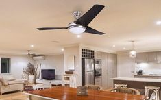 A good ceiling fan's definition varies with customer's need. Best Ceiling Fans, Image House, Lights, Hanna, Solution, Guide, Voici, Dimensions