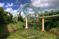 Abandoned Nara Dreamland Roller Coaster Ride