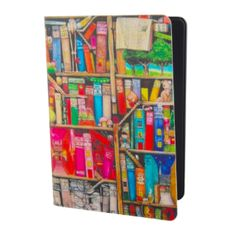 Colorful Library Kindle Paperwhite Case from Inglath Cooper Books!