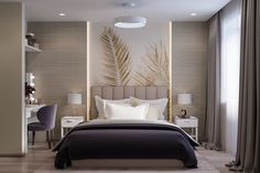 Excellent modern bedroom designs are available on our website. look at this and you wont be sorry you did. Home Decor Bedroom, Apartment Interior, Bedroom Decor, Bedroom Bed Design, Modern Luxury Bedroom, Simple Bedroom, Luxury Bedroom Master, Modern Bedroom, Luxurious Bedrooms