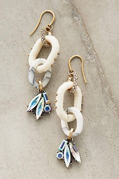 Tourterelle Drops - anthropologie.com [i cannot think that i'd ever wear these and yet they are super pretty and i totally want them]