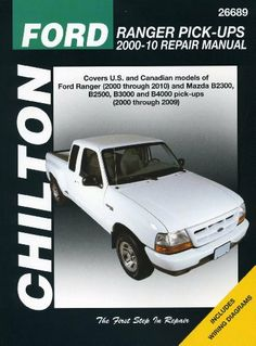 Ford Repair Manuals Chilton