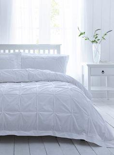 White Cotton&Co Knot Bedset - bedding sets - bedding sets - bedding - Home, Lighting & Furniture - BHS