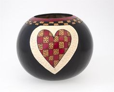1/2 Day Class - Valentine Bowl with Dianne Connelly, only $34.95