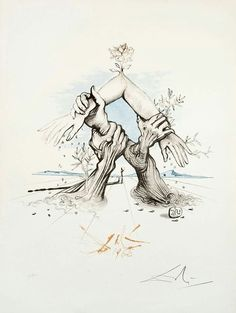 #Salvador #Dali #art #hands