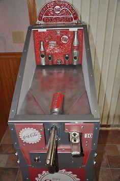 Restored Vintage Coca Cola Arcade==RARE MACHINE