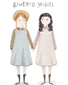 anne of green gables Jonathan Crombie, Anne With An E, Anne Shirley, Kindred Spirits, Prince Edward Island, Illustrators On Instagram, Arte Pop, Cute Illustration, Cute Drawings