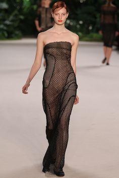 AKRIS – S/S 2013 « FASHIONTOGRAPHER See Through Dress, Sheer Clothing, Sexy Outfits, Sexy Dresses, Bikini Fashion, Bikini Girls, Mesh Dress, Luxury Fashion, Ladies Fashion
