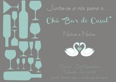 Cha Bar, Jpg, Weeding, Dreams, Design, Couple Shower, Invitations, Parties, Cooking