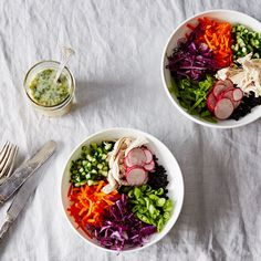 Forbidden Rice Salad with Thai Coconut-Lime Dressing recipe on Food52