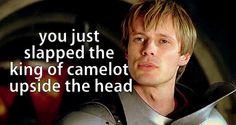 Merlin: you just slapped the king of camelot upside the head    MERLIN S5 EP3 SUMMARY (OF SORTS)