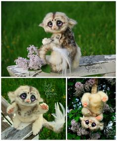Fantasy Creature Doll - Speckled Pik-Pik by RikerCreatures on DeviantArt