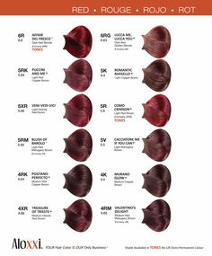Which red hair color expresses your personality the best? #redhead #haircolor