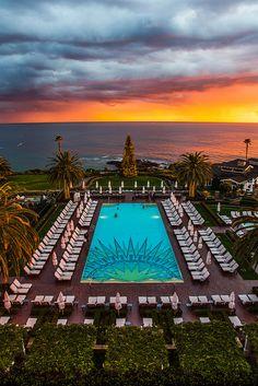 Montage Laguna Beach Sunset, CA