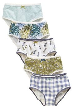Buy Five Pack Vintage Floral Briefs (18mths-16yrs) online today at Next: Italy