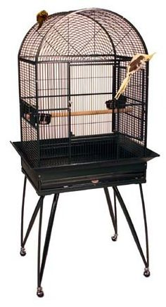 Hula Hotel Bird Cage  26 X 20 X 65  White  Dome Top -- Read more  at the image link.Note:It is affiliate link to Amazon.