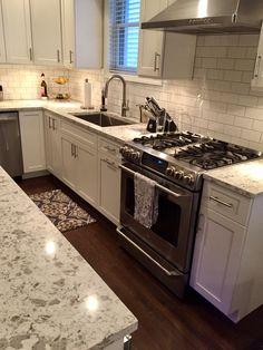 White Grey Kitchen Kitchen Remodel White Shaker Cabinets
