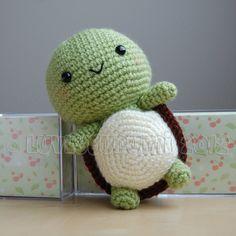 1189. Turtle Gurumi Crochet Pattern by LuvlyGurumi on Etsy. Her patterns give you warm fuzzies!