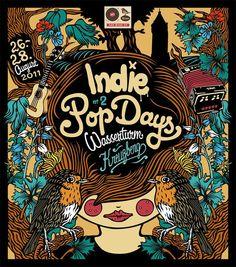 Second Indie Pop Days by Apfel Zet