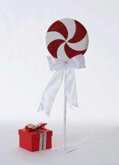 Deko-Lollipop 20x5 cm (Ø/T)
