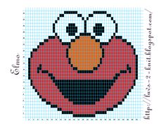 Cro Knit Inspired Creations By Luvs2knit: Sesame Street Crochet Chart Pattern By Luvs2knit