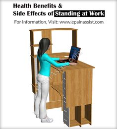 Health Benefits & Side Effects of Standing at Work